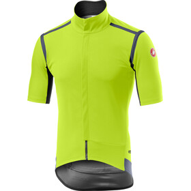 Castelli Gabba Rain Or Shine Jas Heren, yellow fluo